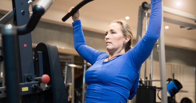 Fysisk träning ger välmående.
